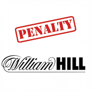 UKGC Fines William Hill £6.2 Million