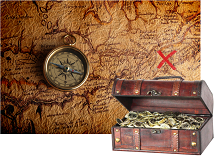 An obsession with treasure hunts through the ages