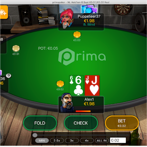 Prima Poker Launched by Microgaming