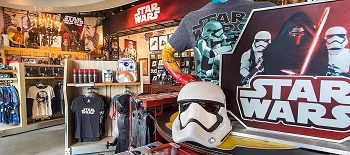 Star Wars merchandise brings in the money